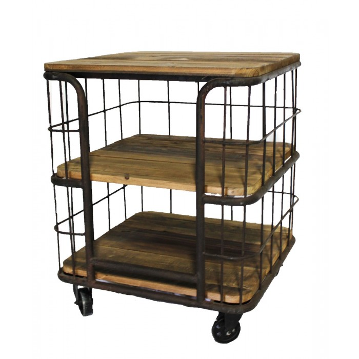 3 Tier Iron Rack