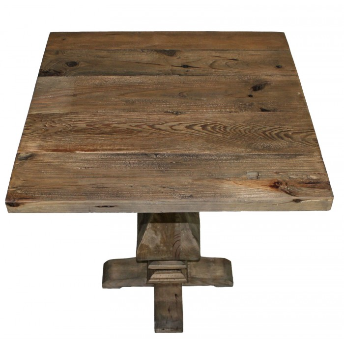 TH-684 Trestle Base End Table