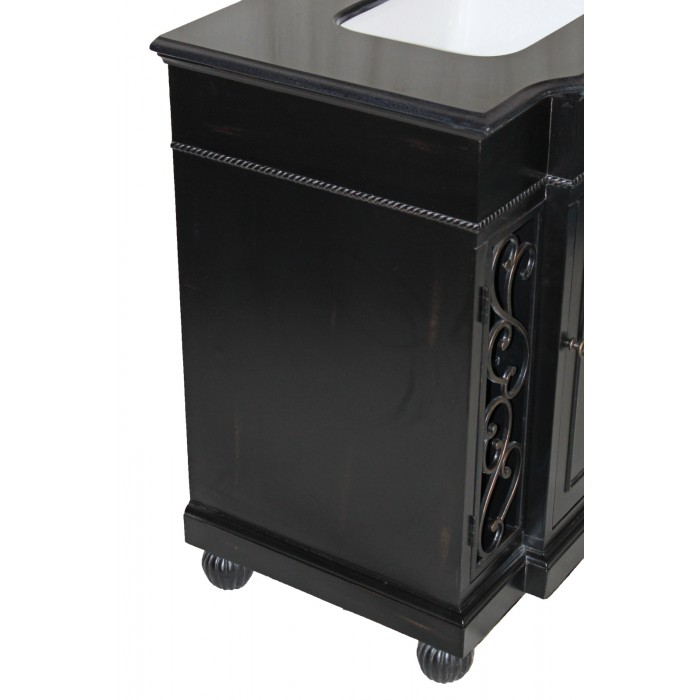 WF-B3325 Single Black Vanity Sink