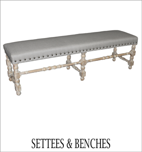 Living Settees and Benches