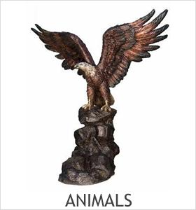 Animals Bronze Sculptures