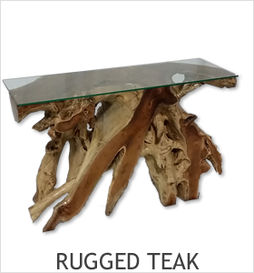 Rustic Rugged Teak