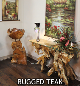 Rugged Teak Collection
