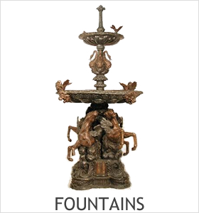 Fountains Bronze Sculptures